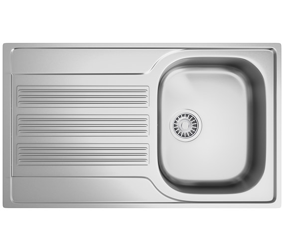 Franke Galileo GOX 611-86 Stainless Steel 1.0 Bowl Kitchen Inset Sink