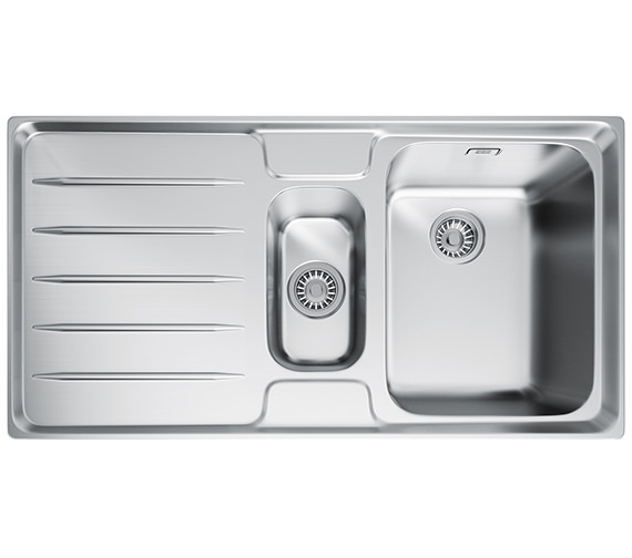 Franke Laser LSX 651 1.5 Bowl Stainless Steel Kitchen Inset Sink