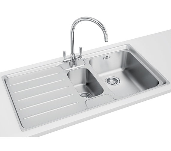 Franke Laser Designer Pack LSX 651 Stainless Steel Kitchen Sink And Tap