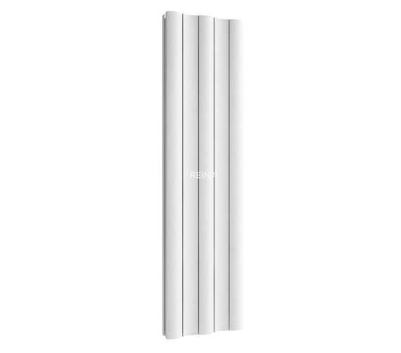 Alternate image of Reina Gio Vertical Double Aluminium Radiator 470 x 1800mm