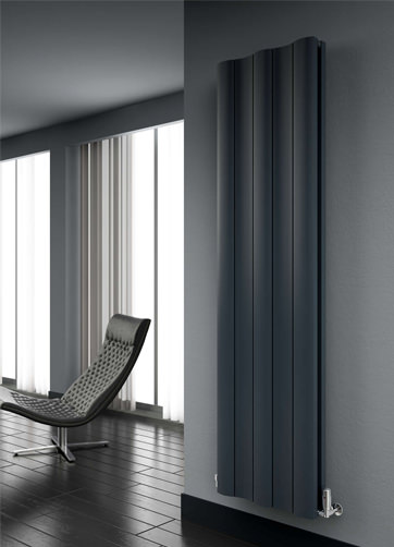 Additional image of Reina Gio Vertical Double Aluminium Radiator 470 x 1800mm