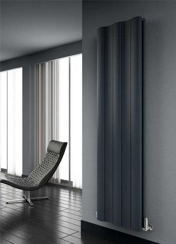 Additional image of Reina Gio Vertical Double Aluminium Radiator 280 x 1800mm