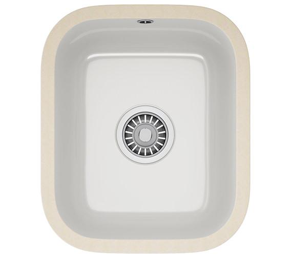 Additional image of Franke V And B DP VBK 110 21 + VBK 110 33 Ceramic White Kitchen Sink And Tap
