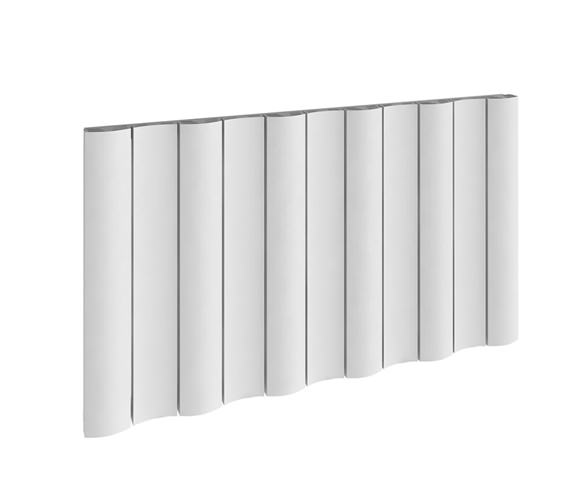Reina Gio Horizontal Single Panel Aluminium Radiator 1230 x 600mm