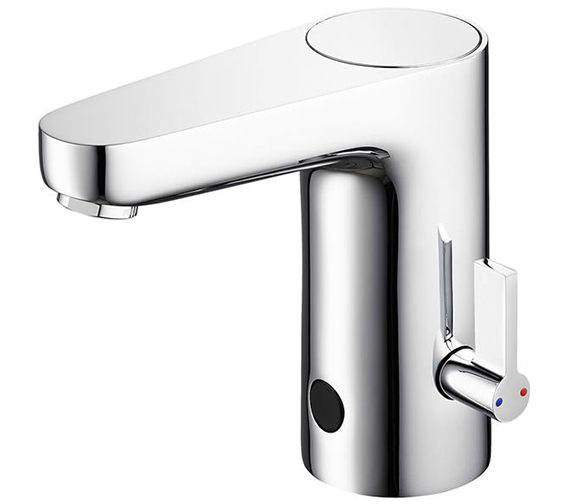 Sensorflow Wave Basin Mixer Tap With Temperature Control - Mains