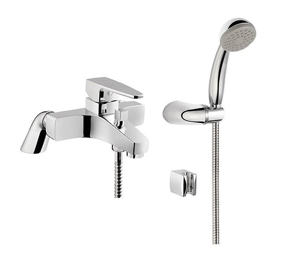 VitrA X-Line Bath Shower Mixer Tap - A42401VUK
