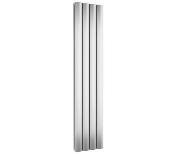 Reina Greco Vertical Double Aluminium Radiator 375 x 1800mm