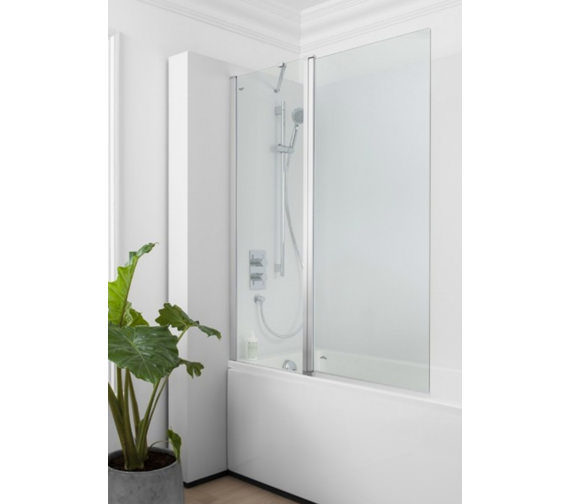 Simpsons Click 1150mm Double Bath Screen