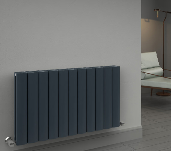 Reina Greco Double Panel Horizontal Radiator 470 x 600mm