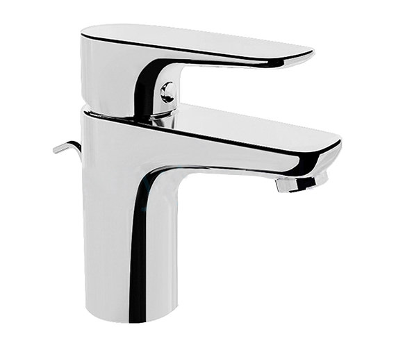 VitrA X-Line Short Basin Mixer Tap With Pop Up Waste