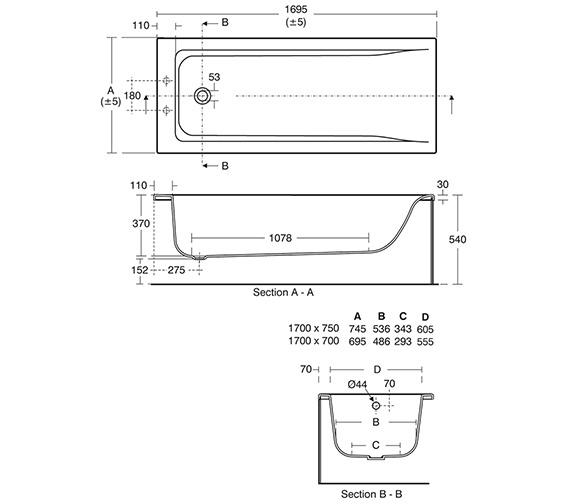 Technical drawing QS-V3267 / E700301
