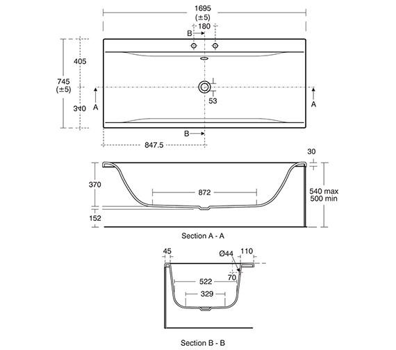 Technical drawing QS-V3268 / E700701