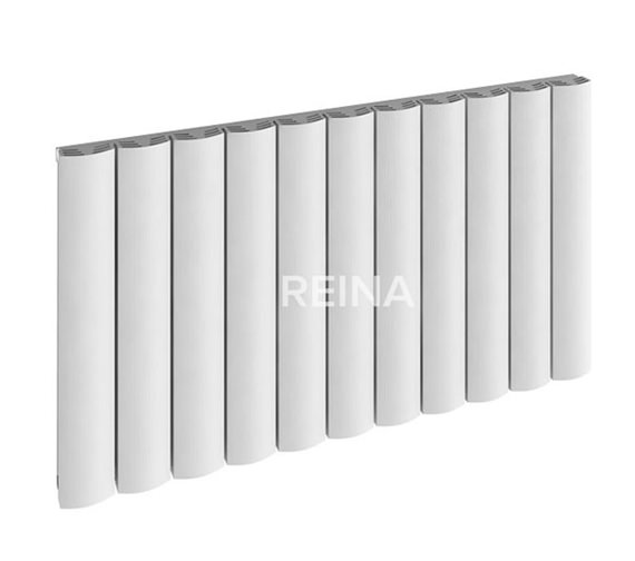 Alternate image of Reina Greco Single Panel Horizontal Radiator 660 x 600mm