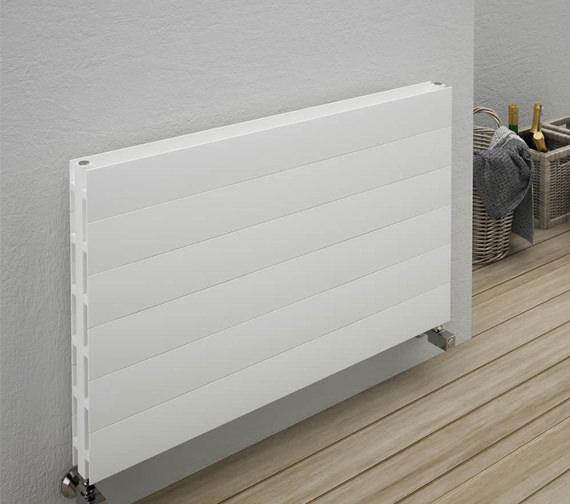 Alternate image of Reina Veno Double Panel Aluminium Radiator 600 x 605mm - A-VN060WD