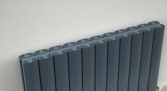 Additional image of Reina Greco Double Panel Horizontal Radiator 850 x 600mm