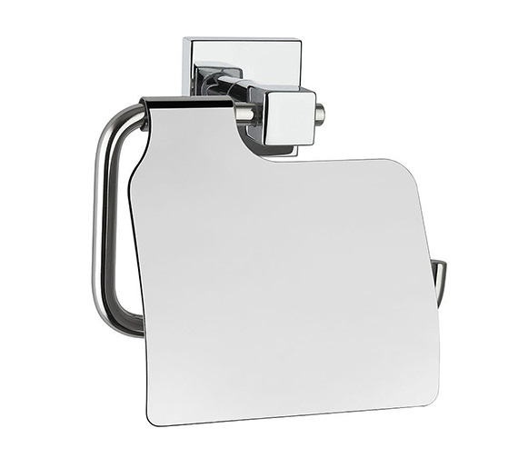 VitrA Q-Line Toilet Roll Holder With Cover