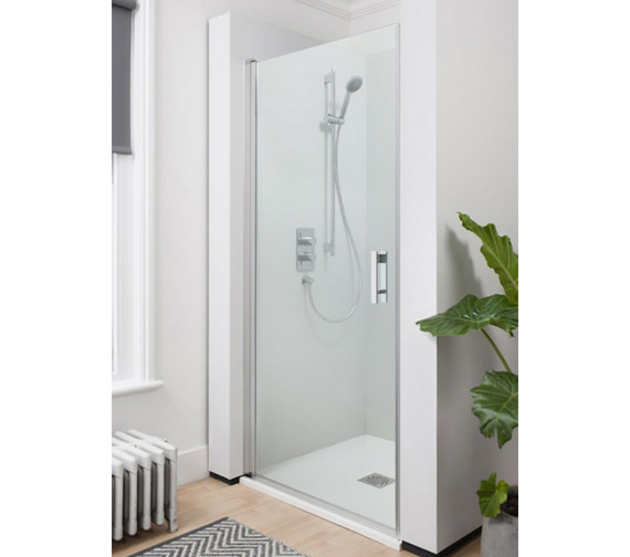 Simpsons Click Hinged Shower Door 900mm - NHDSC0900