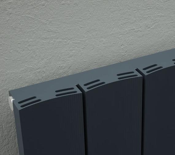 Additional image of Reina Luca Vertical Single Panel Radiator 280 x 1800mm - A-LU318A