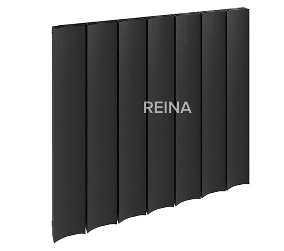Alternate image of Reina Luca Horizontal Single Panel Aluminium Radiator 470 x 600mm