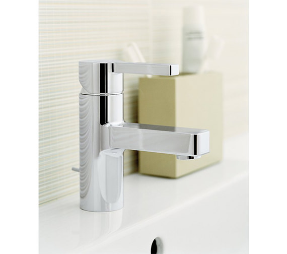 Additional image of Grohe Lineare Half Inch Basin Mixer Tap With Pop-Up Waste - 32109000