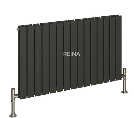 Alternate image of Reina Flat Horizontal Double Panel Designer Radiator 1254 x 600mm