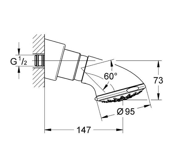 Technical drawing QS-V22250 / 27062000