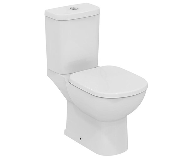 Ideal Standard Tempo Close Coupled WC Pan With Vertical Outlet 665mm