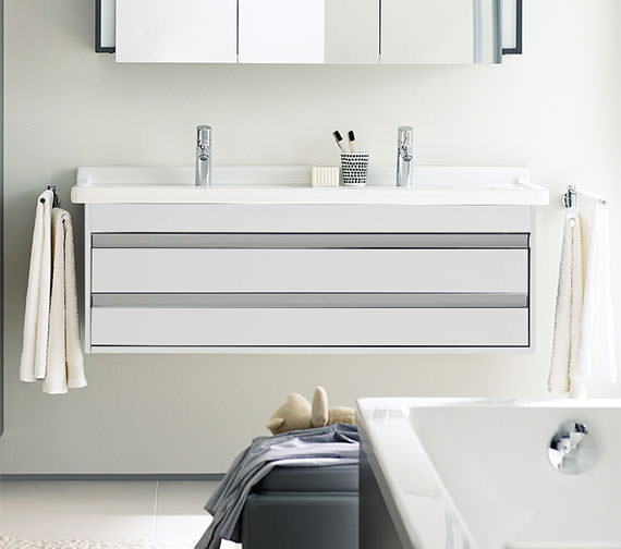 Duravit Ketho 1150mm 2 Drawers Unit With D-Code Double Basin