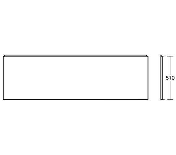 Technical drawing QS-V3321 / E318301