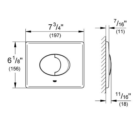 Technical drawing QS-V57650 / 38506000