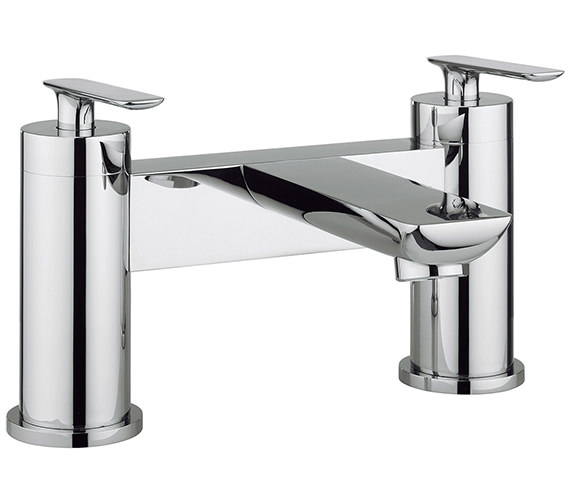 Crosswater Silk Deck Mounted Bath Filler Tap - SI322DC
