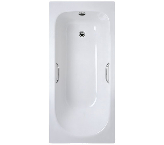 Ideal Standard Alto CT Idealform Plus No TH 1500 x 700mm Bath With Grips