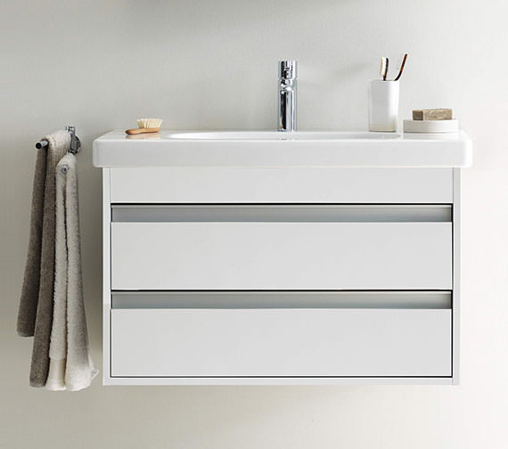 bathroom vanities and sinks duravit ketho 850mm 2 drawers unit with 850mm starck 3 16939