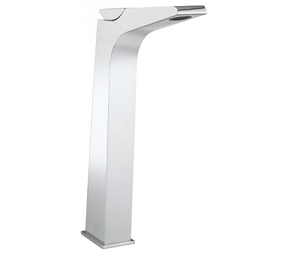 Crosswater Wedge Monobloc Tall Basin Mixer Tap - WD112DNC