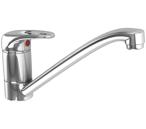 Franke Prof Top Lever Kitchen Sink Mixer Tap Chrome - 115.0049.958