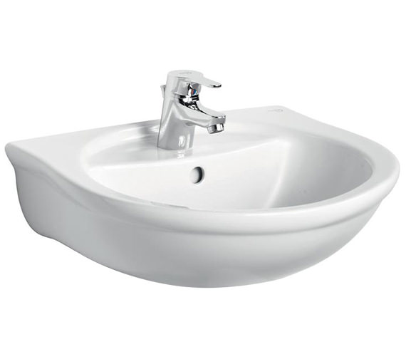 Ideal Standard Alto 500mm 1 Taphole Washbasin With Overflow