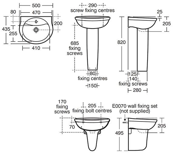 Technical drawing QS-V40431 / E744501