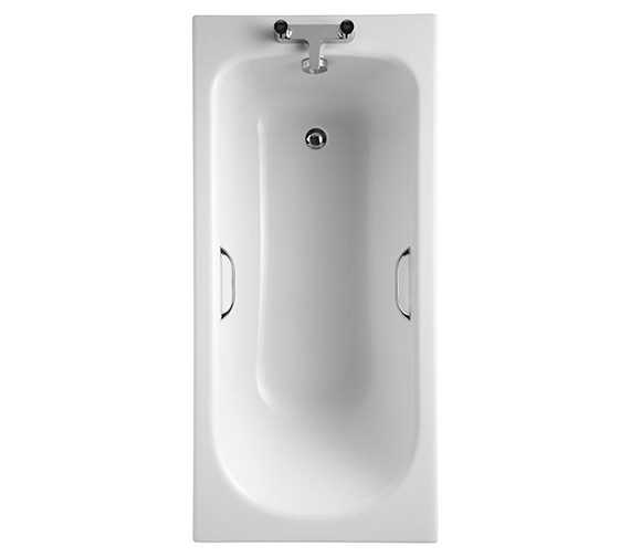 Ideal Standard Alto CT Idealform 2 Taphole 1500 x 700mm Bath With Grips