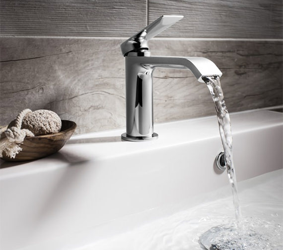 Alternate image of Crosswater Dune Monobloc Basin Mixer Tap - DN110DNC