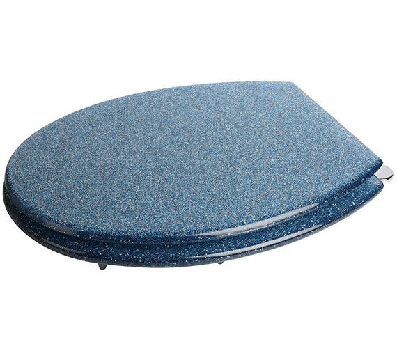 croydex blue glitter toilet seat wl101024. Black Bedroom Furniture Sets. Home Design Ideas