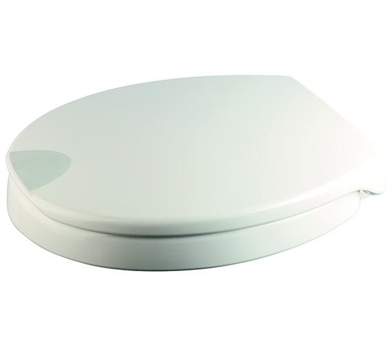 Croydex Raised White Urea Toilet Seat - WL400522H