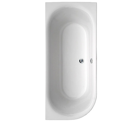 Aquaestil Metauro Double Ended Acrylic Bath 1800 x 800mm