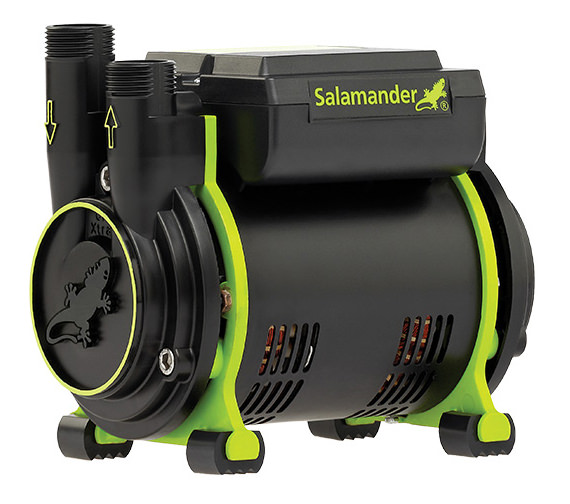 Salamander CT85+ Xtra 2.5 Bar Single Impeller Positive Head Shower Pump