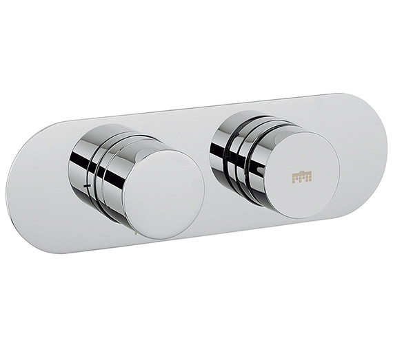 Additional image of Crosswater Dial Central Thermostatic Portrait Trim Shower Valve