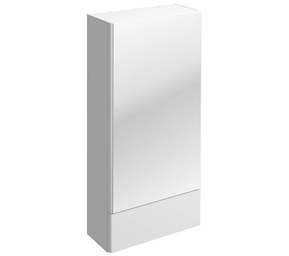 Twyford E100 Square Mirror Cabinet 418 x 850mm