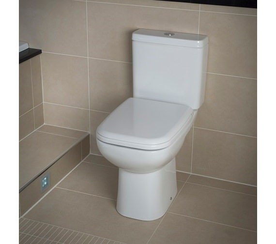 RAK Origin 62 Close Coupled WC Pack With Soft Close Seat