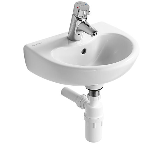 Armitage Shanks Contour 21 Splash 400mm 1 Taphole Basin - S263501