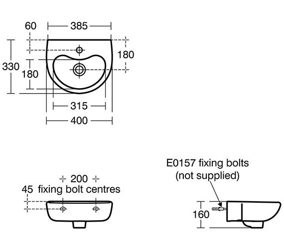 Technical drawing QS-V10651 / S263501