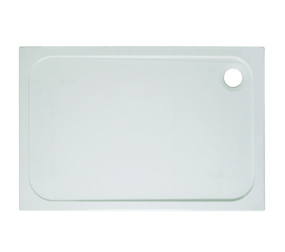 Simpsons Rectangular 45mm Stone Resin Low Level Tray