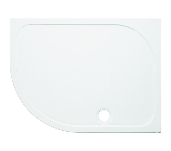 Simpsons Offset Quadrant 45mm Stone Resin Tray